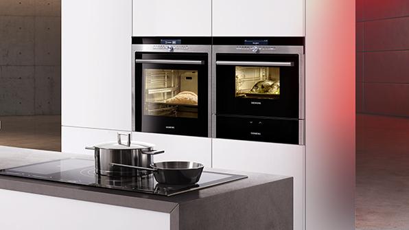 Siemens - 'iQ700' Forno a Incasso con Microonde