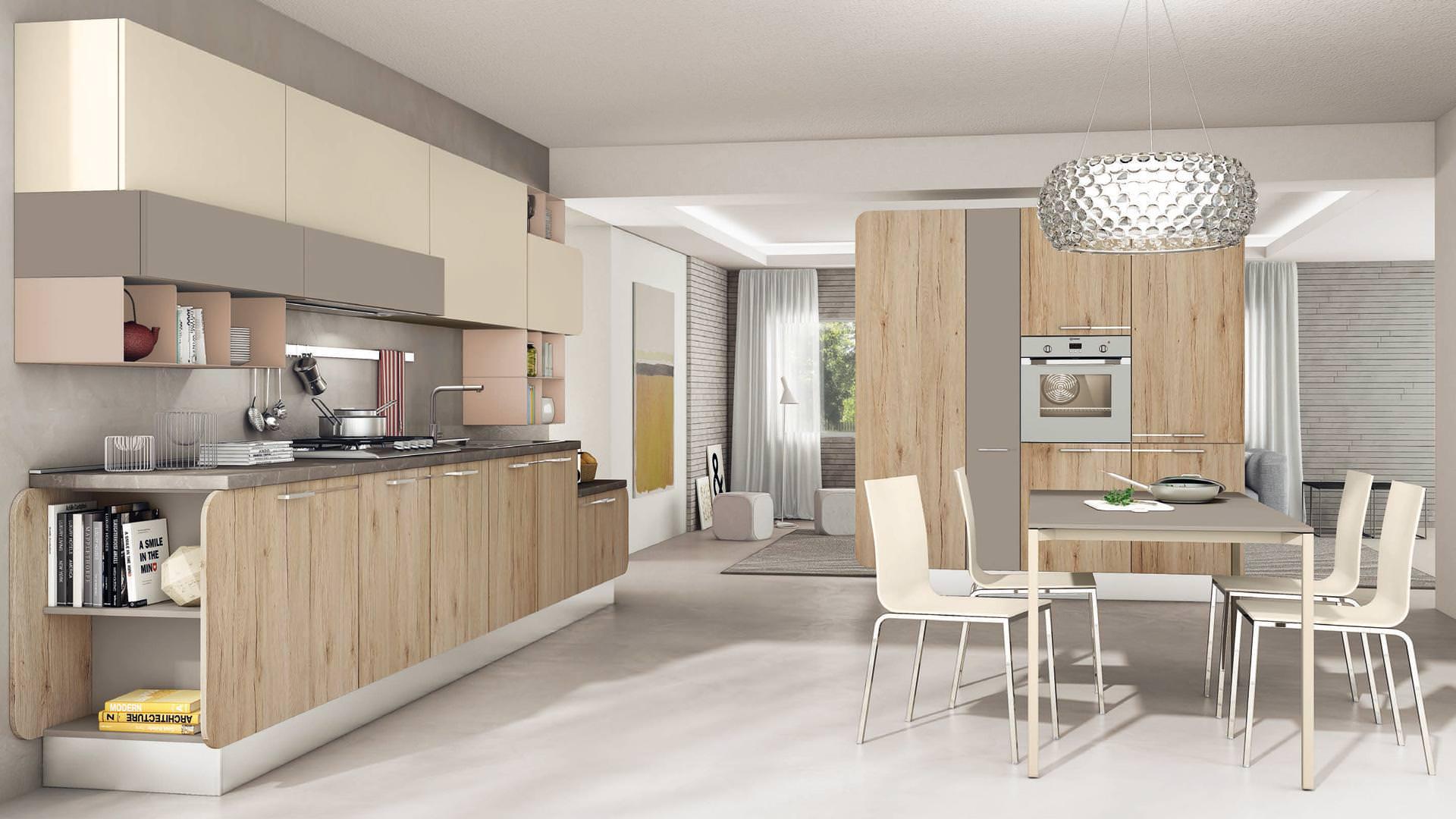 Cucine Moderne Bianche Lube : Cucine moderne