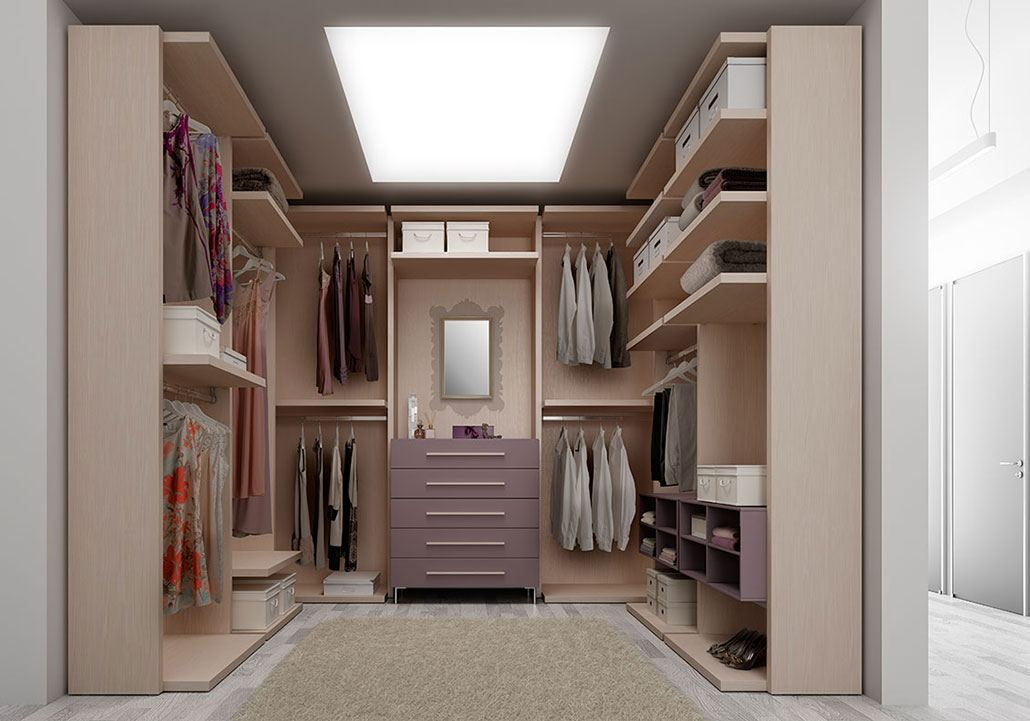 Come organizzare la cabina armadio blog arredobene - Mobili cabina armadio ...