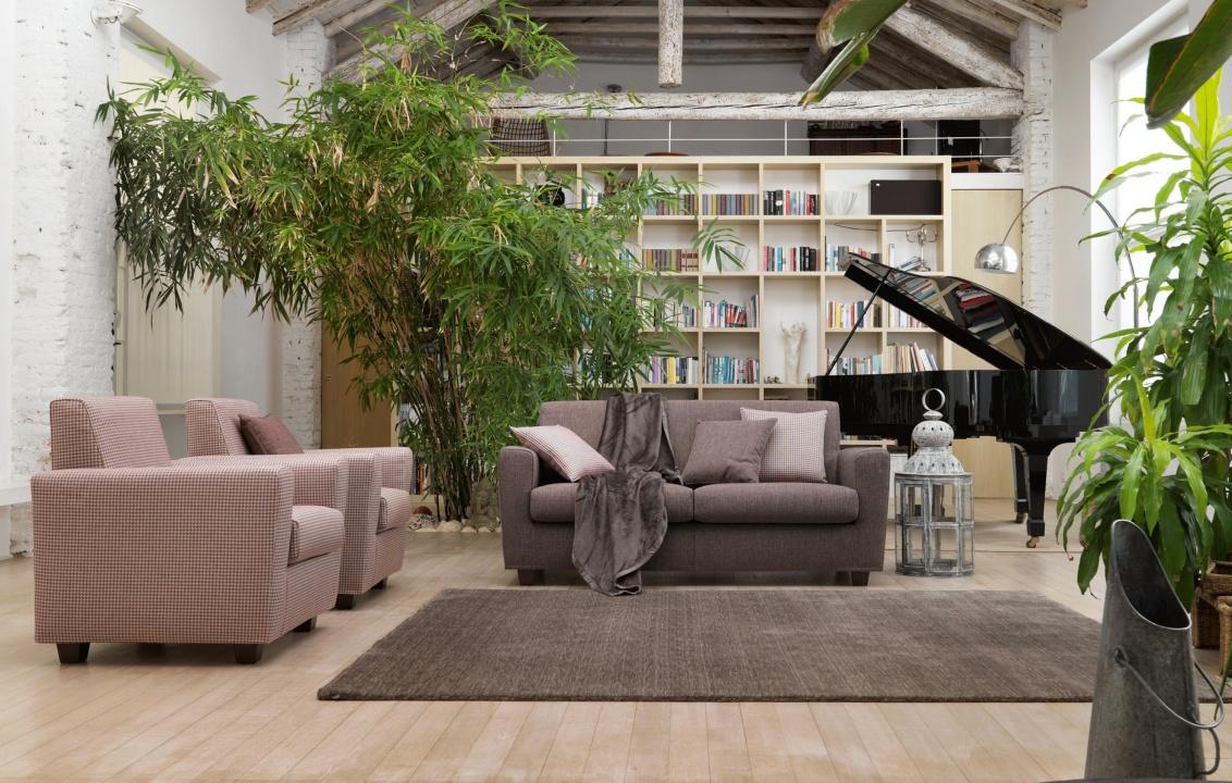 Arredare casa con il verde greenery arredobene for Arredare casa moderna con poco